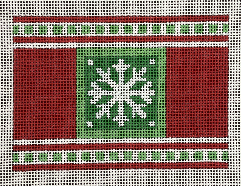 MS13662I Cracker Christmas Snowflake Ornament Melissa Shirley