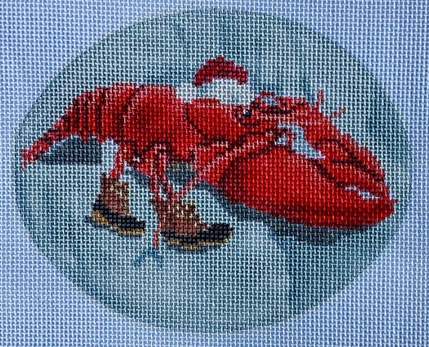 SCXO48 Lobstah Ornament CBK Needlepoint Collections