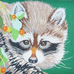 C450F Raccoon Portrait The Meredith Collection