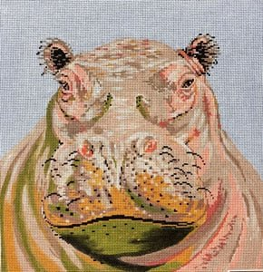 C450W Hippo Portrait The Meredith Collection