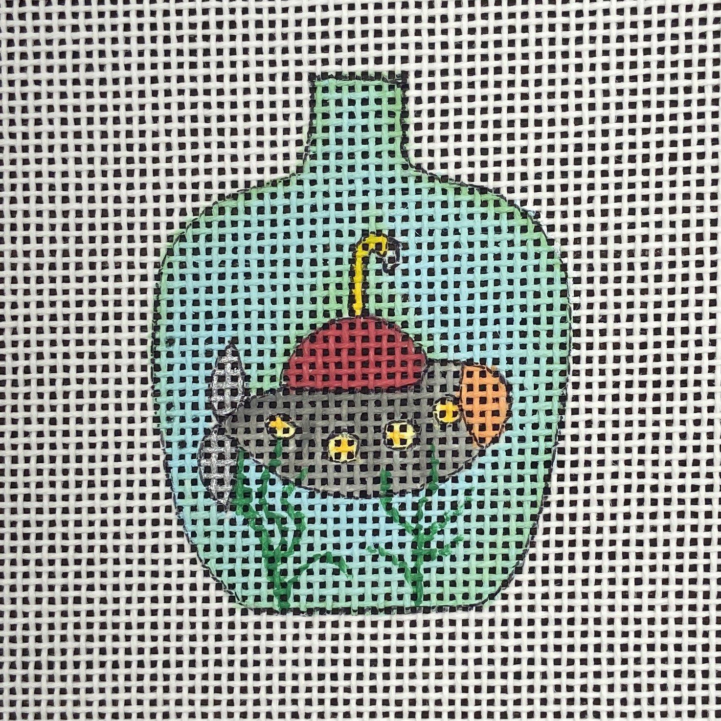BOT106C Wee Submarine in a Bottle Renaissance Designs