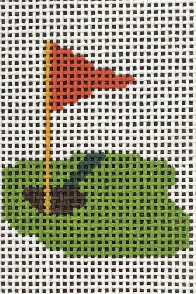 PETI808 Wallet Insert Golf Hole Flag Planet Earth