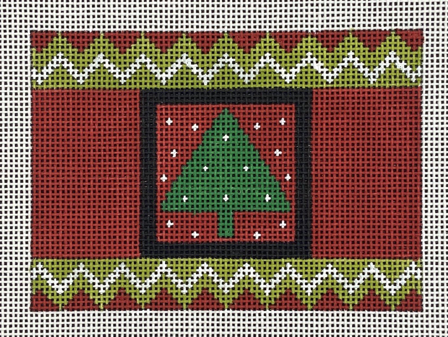 MS13662A Cracker Christmas Tree Ornament Melissa Shirley