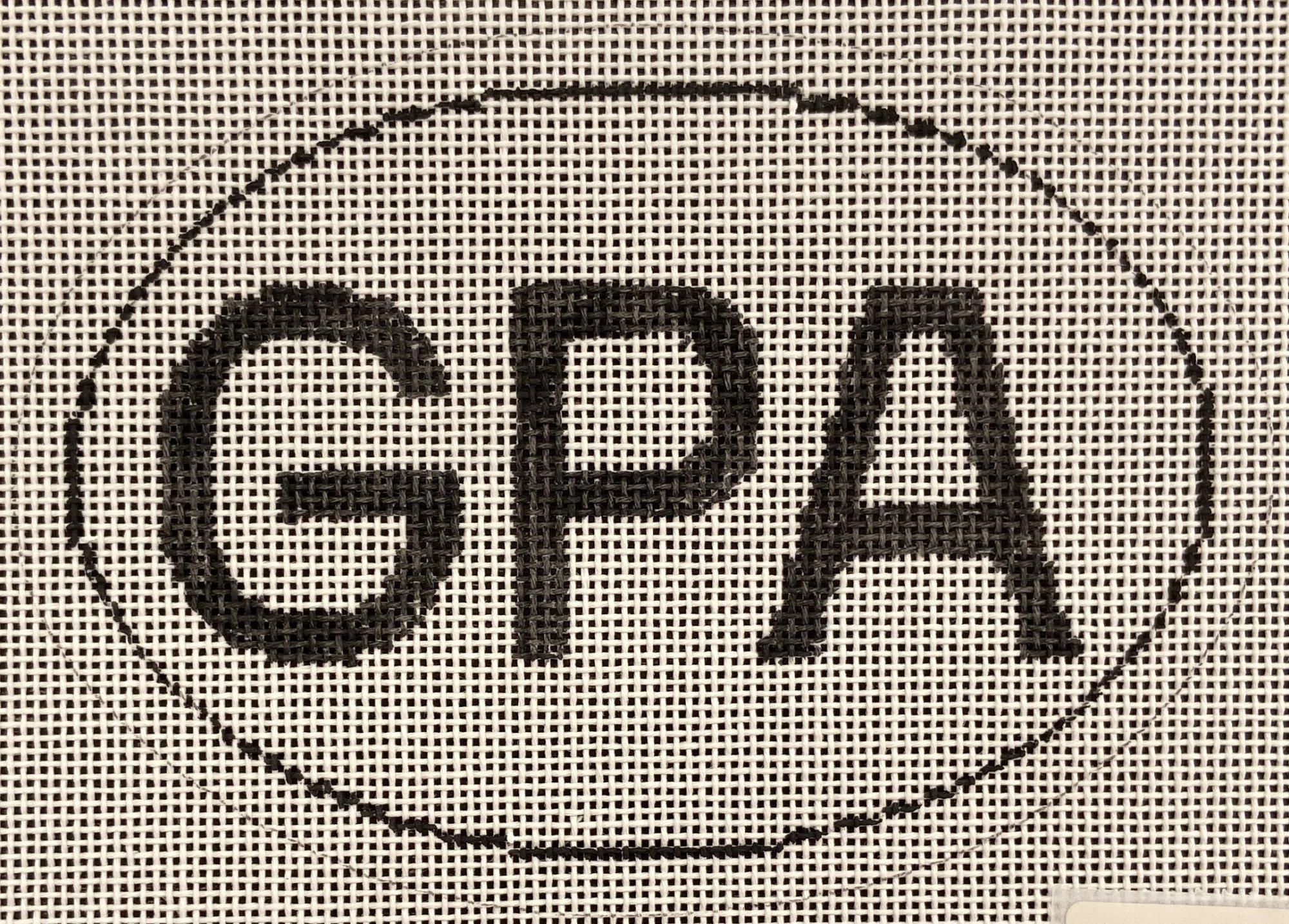 GPA Euro Sticker Ornament Grosse Pointe Academy