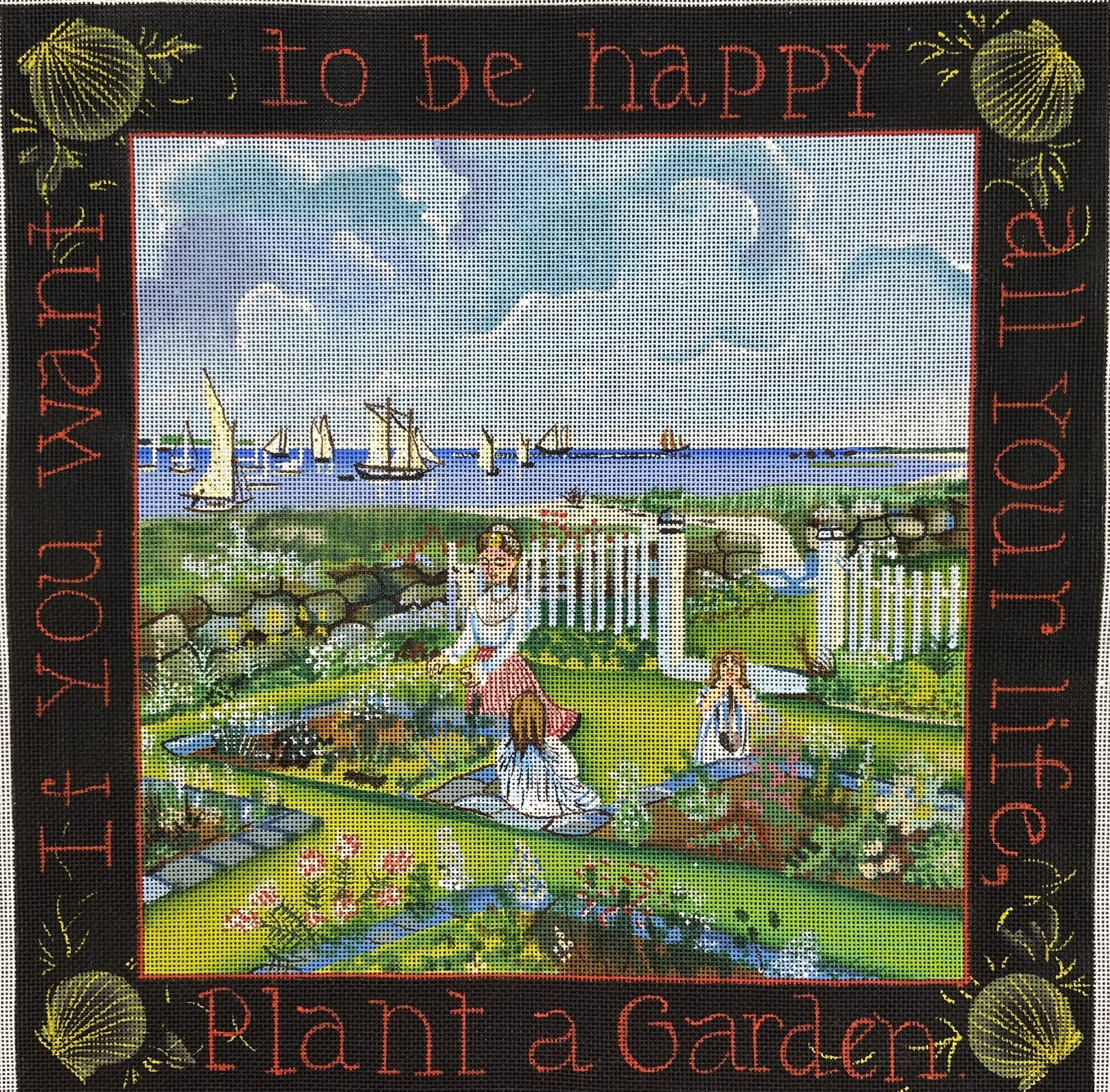 EM110 If You Want To Be Happy Plant a Garden