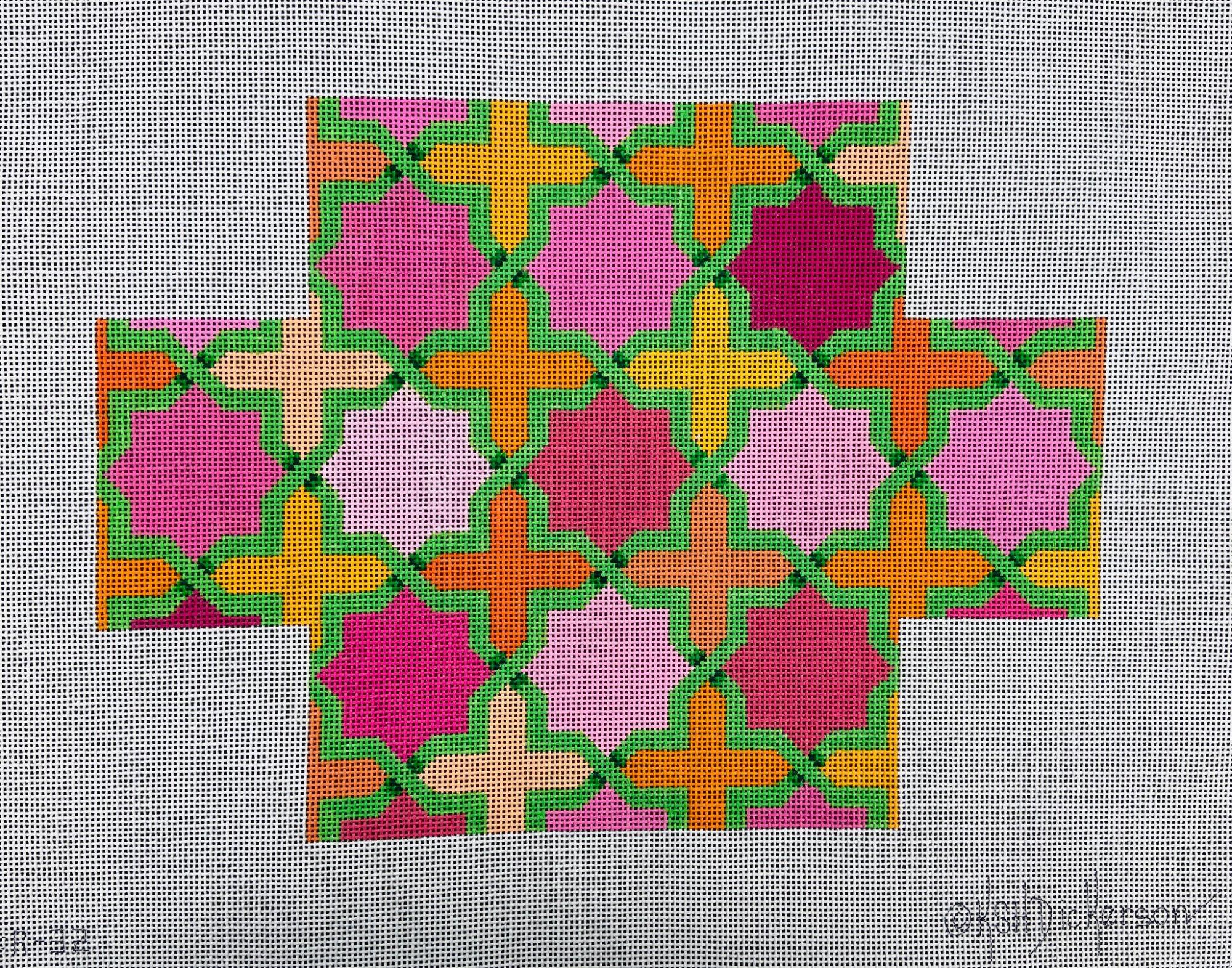 BR32 Moroccan Tiles Brick Cover Kate Dickerson