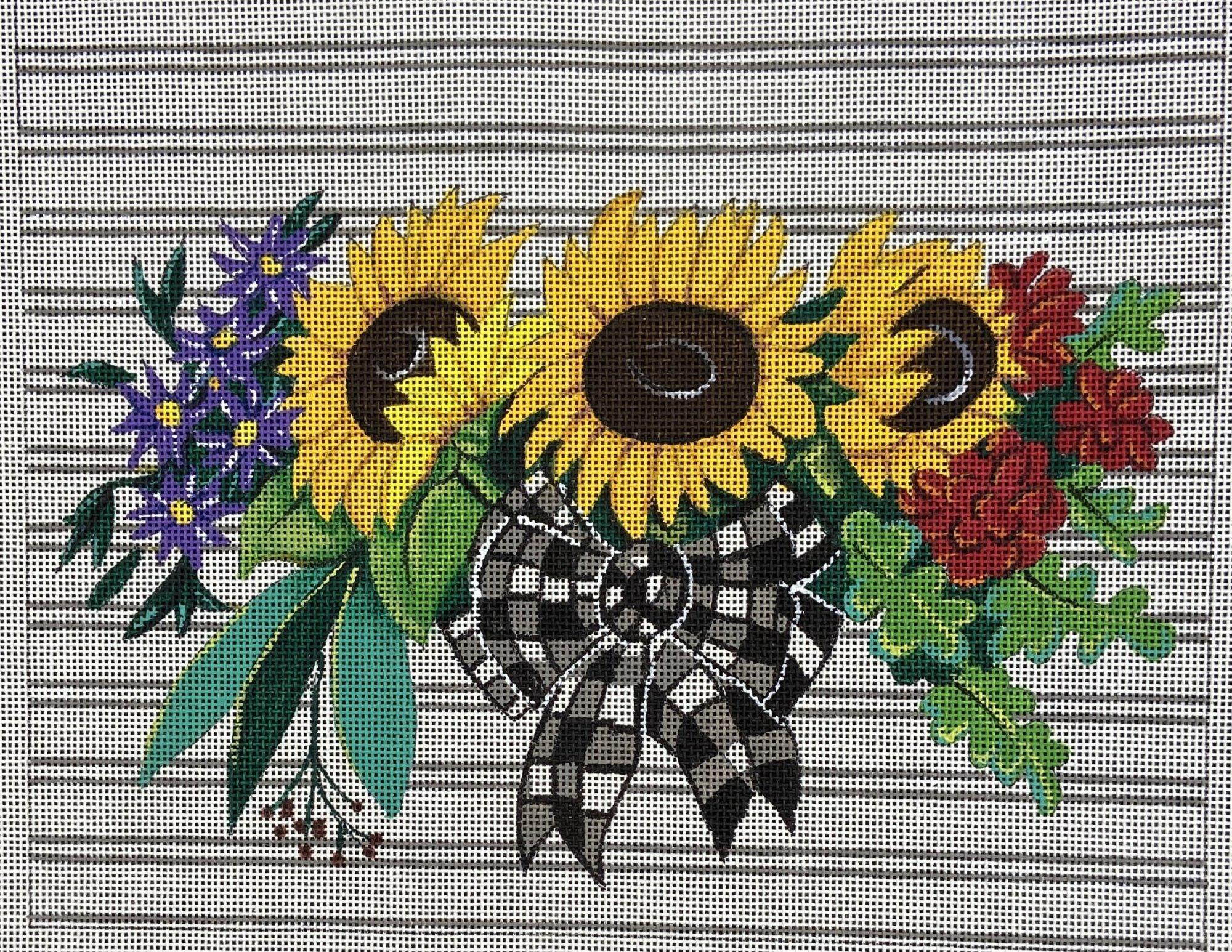 A435 Sunflower Bouquet Patty Paints