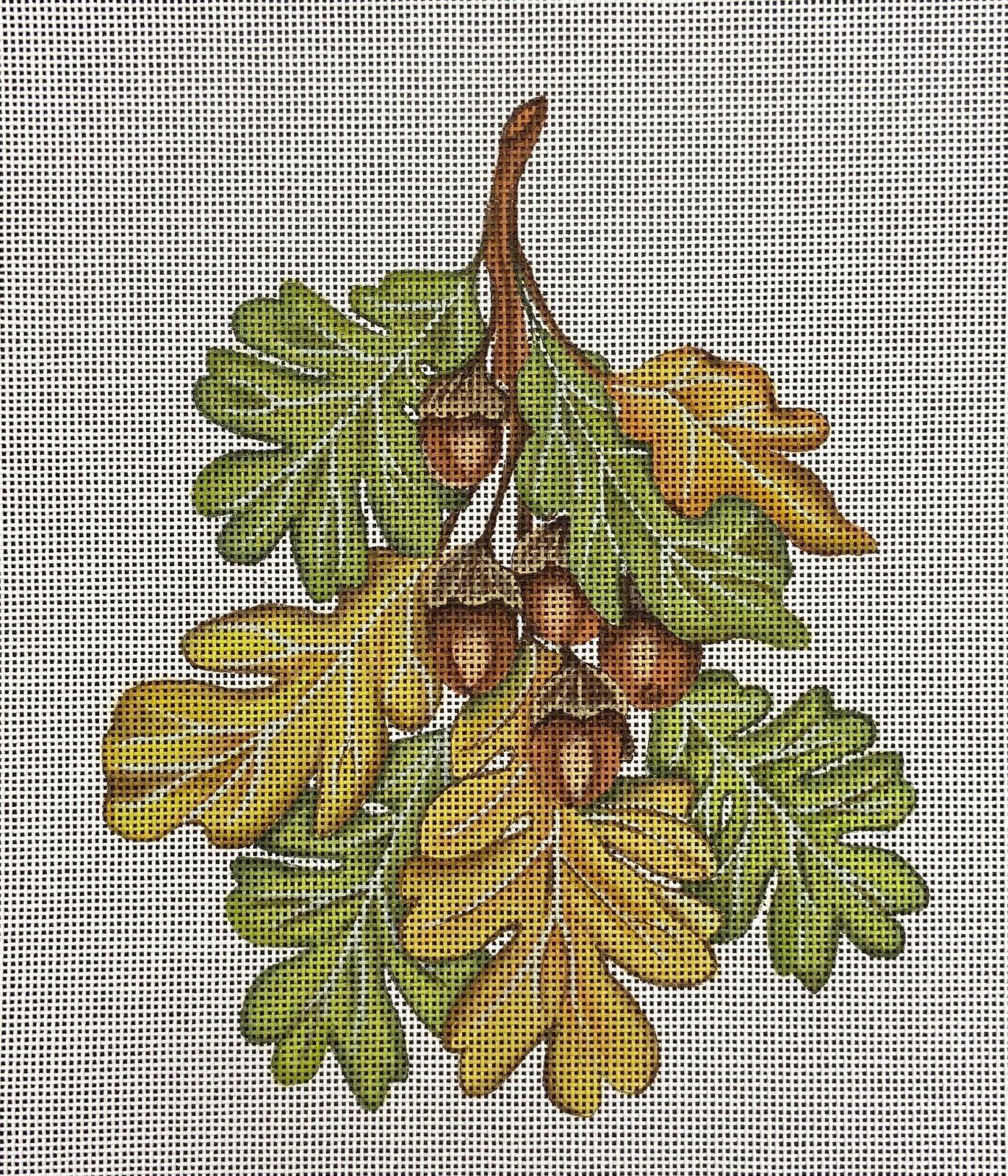 MLT296 Oak Leaves Melissa Shirley