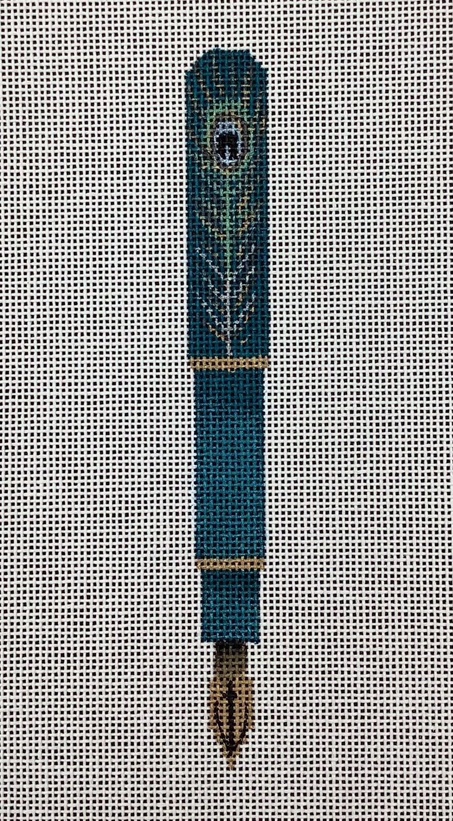 GS465 Pen Peacock Feather Fleur de Paris