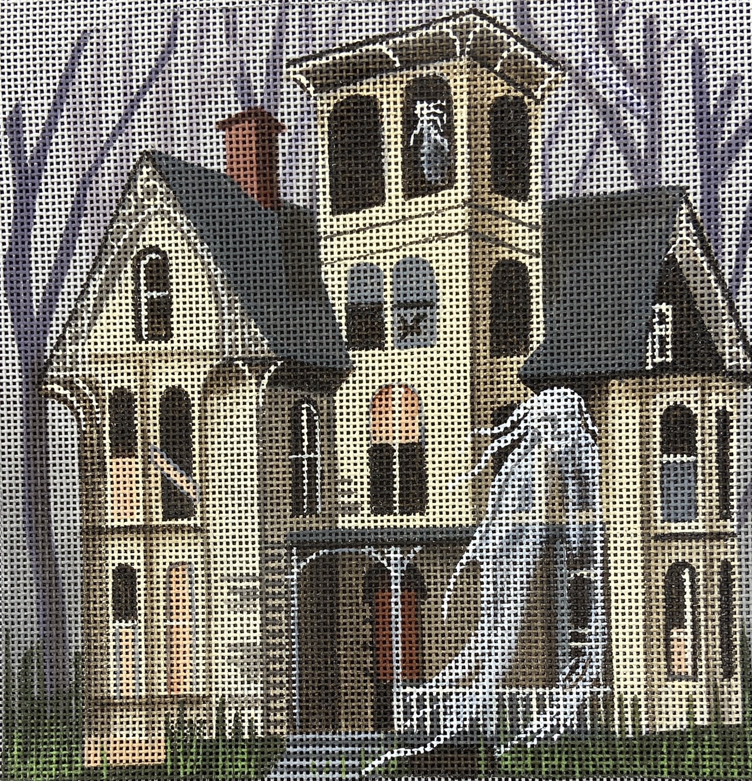 LD5213 Phantom Forest  Haunted Hill with Stitch Guide Leigh Designs