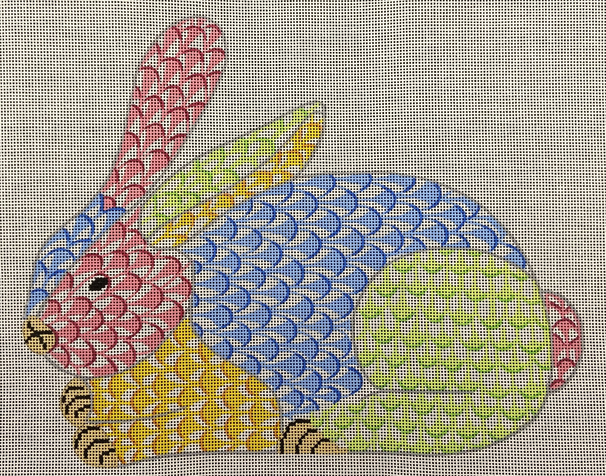 SST336 Fishnet Patchwork Bunny Kate Dickerson