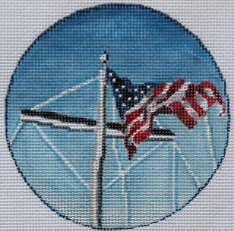 PLDKL1121 Fly Your Flag Ornament PLD Designs
