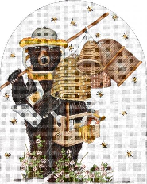 MLT674 Bee Keeper Bear Melissa Shirley