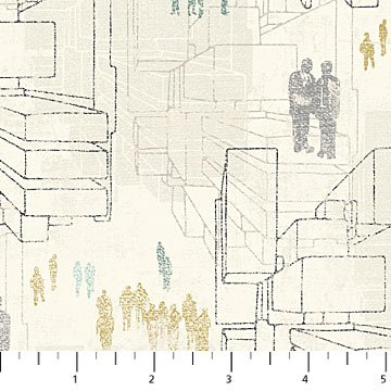 22676-11 - Urban Grunge by Northcott Studio