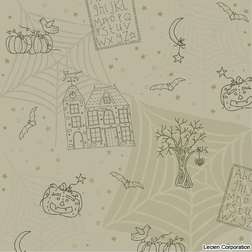 30484-90 - Happy Halloween by Lynette Anderson for Lecien