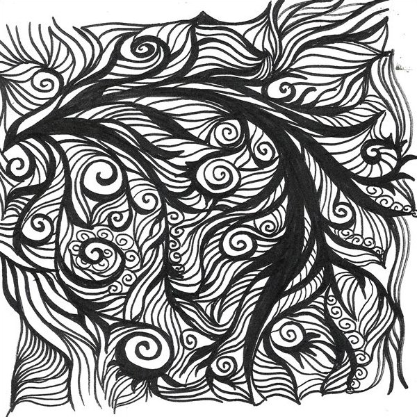 104-02 - Sprawl - Ink by Frond Design Studios