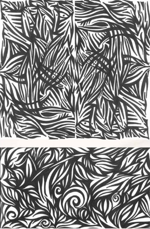 104-04 - Thicket - Ink by Frond Design Studios
