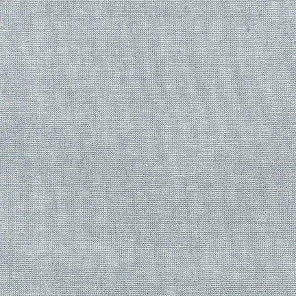 E105-444-Fog - Essex Yarn Dyed Metallic by Robert Kaufman
