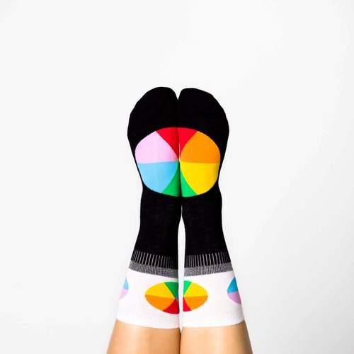 Color Wheel Socks