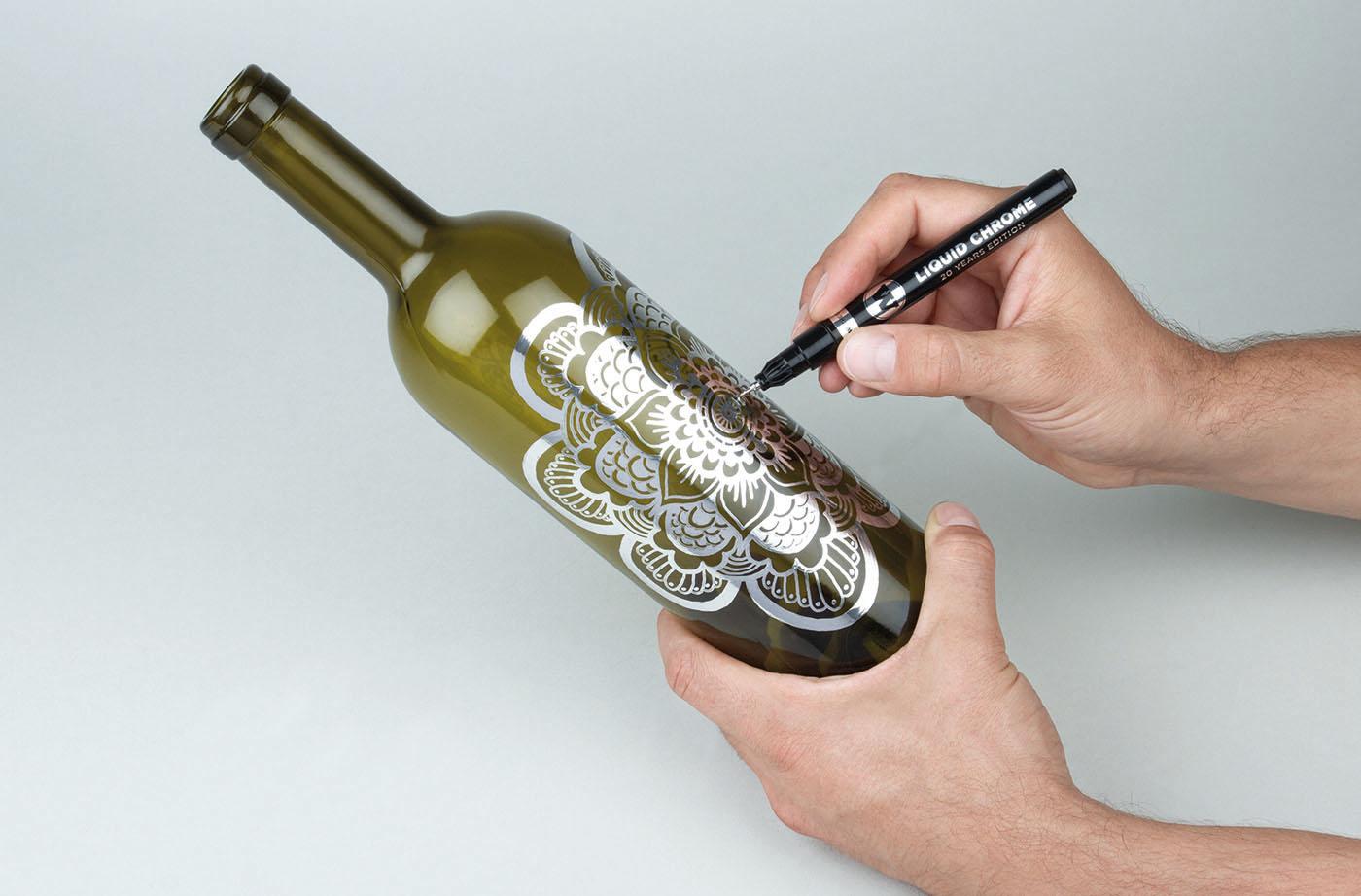 Molotow Liquid Chrome Pens