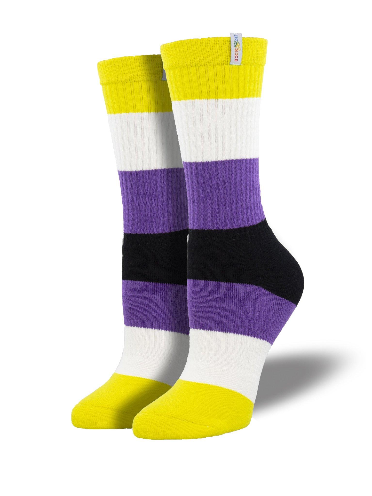 Non-Binary Pride Socks