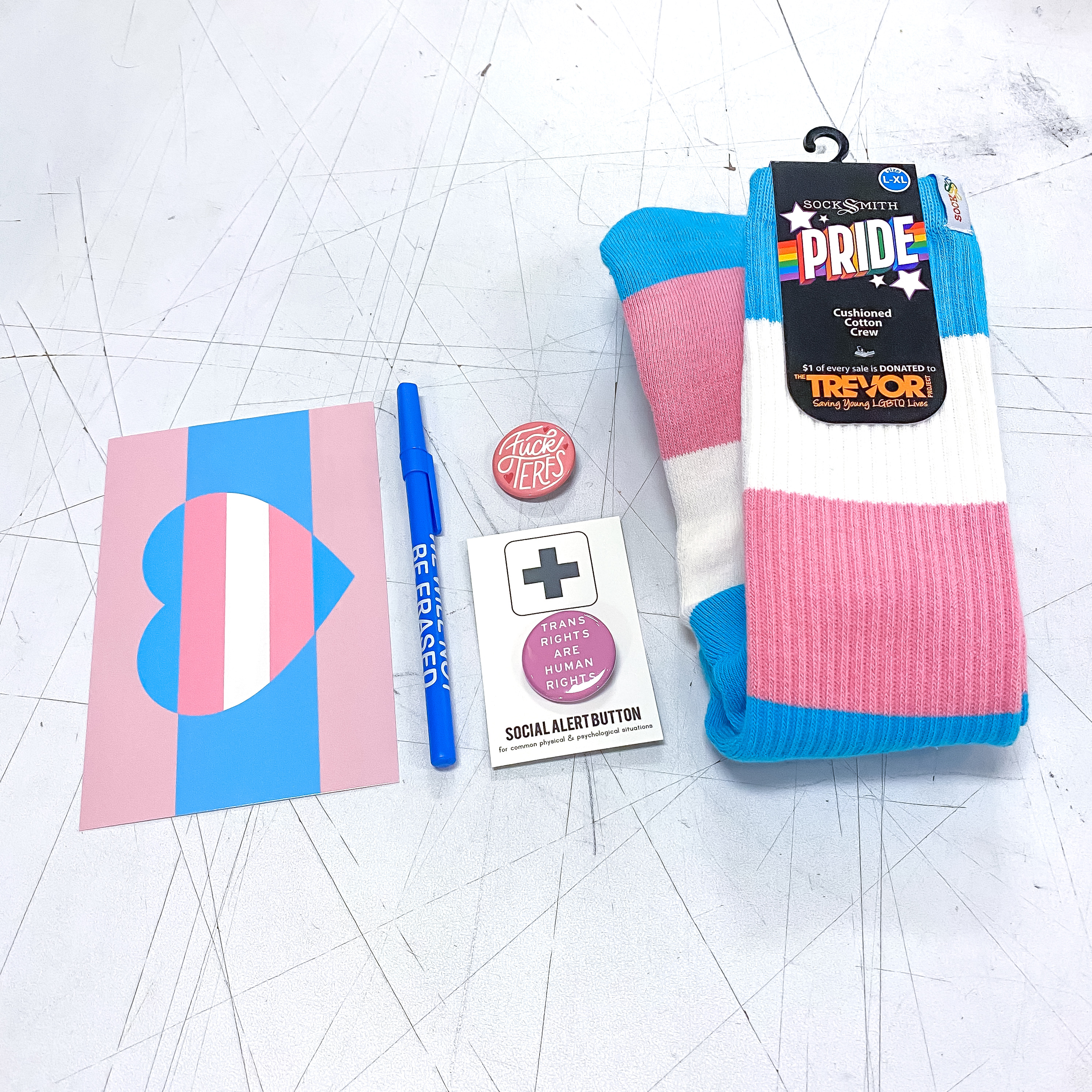 Trans Pride Kit (No TERF Edition)