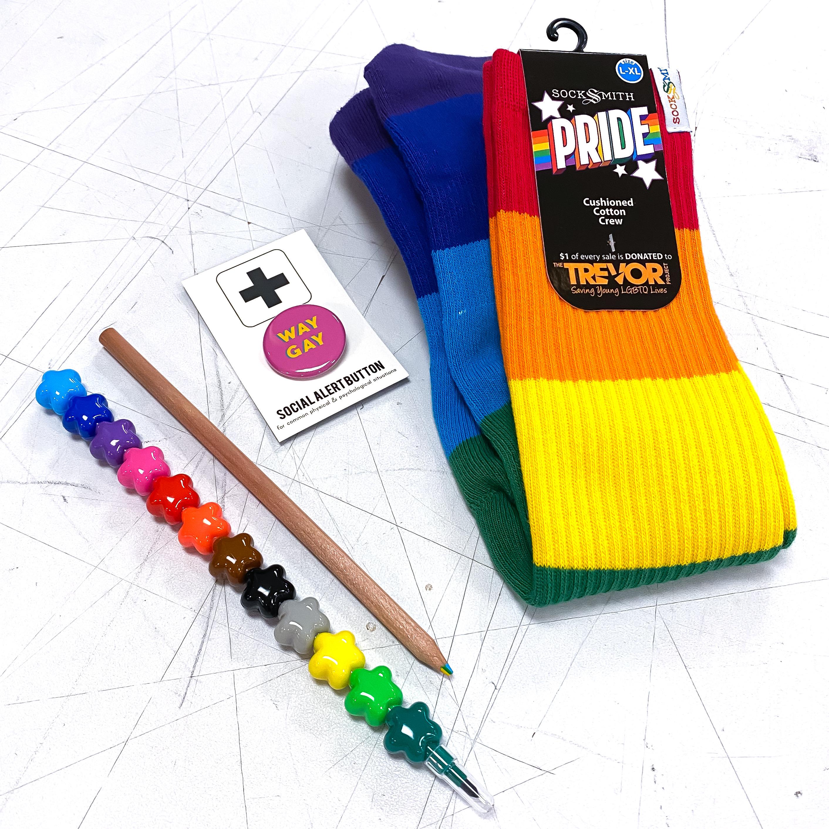 Way Gay Rainbow Pride Kit!