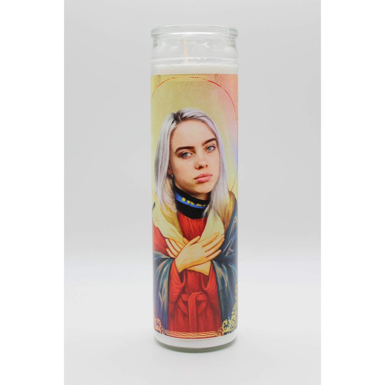 Billie Eillish Candle