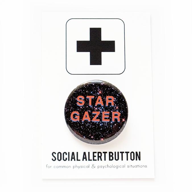 Star Gazer Pin
