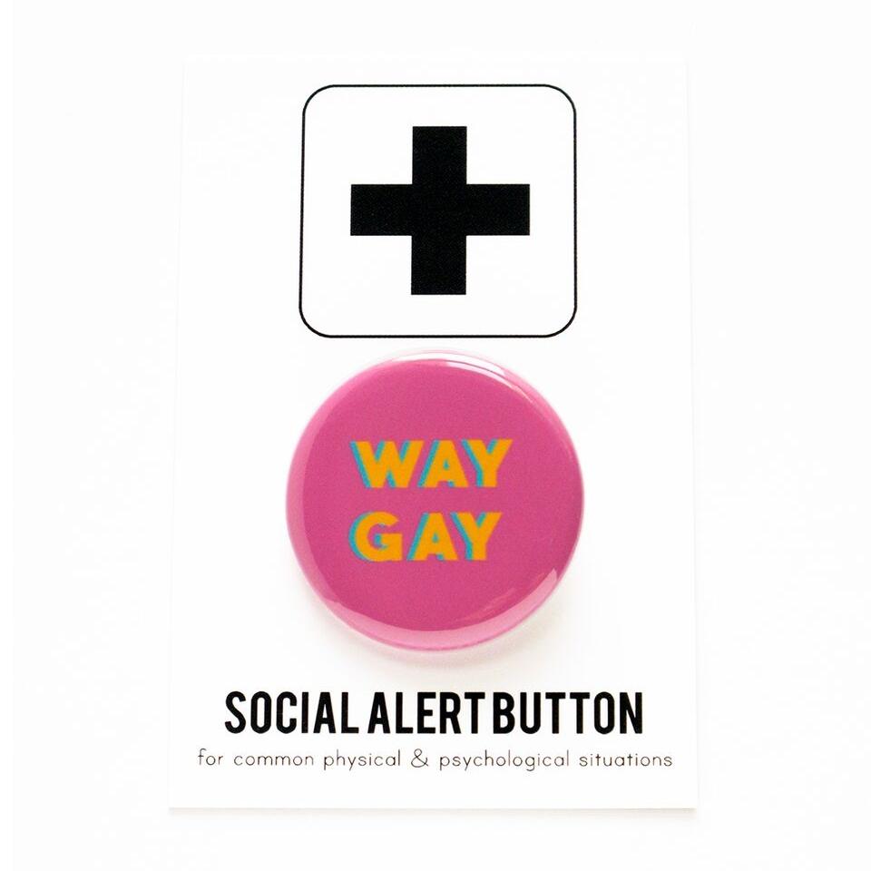 Way Gay Pin