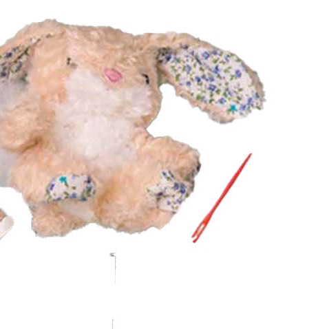 Sew Me Up Floral Bunny in a Tin