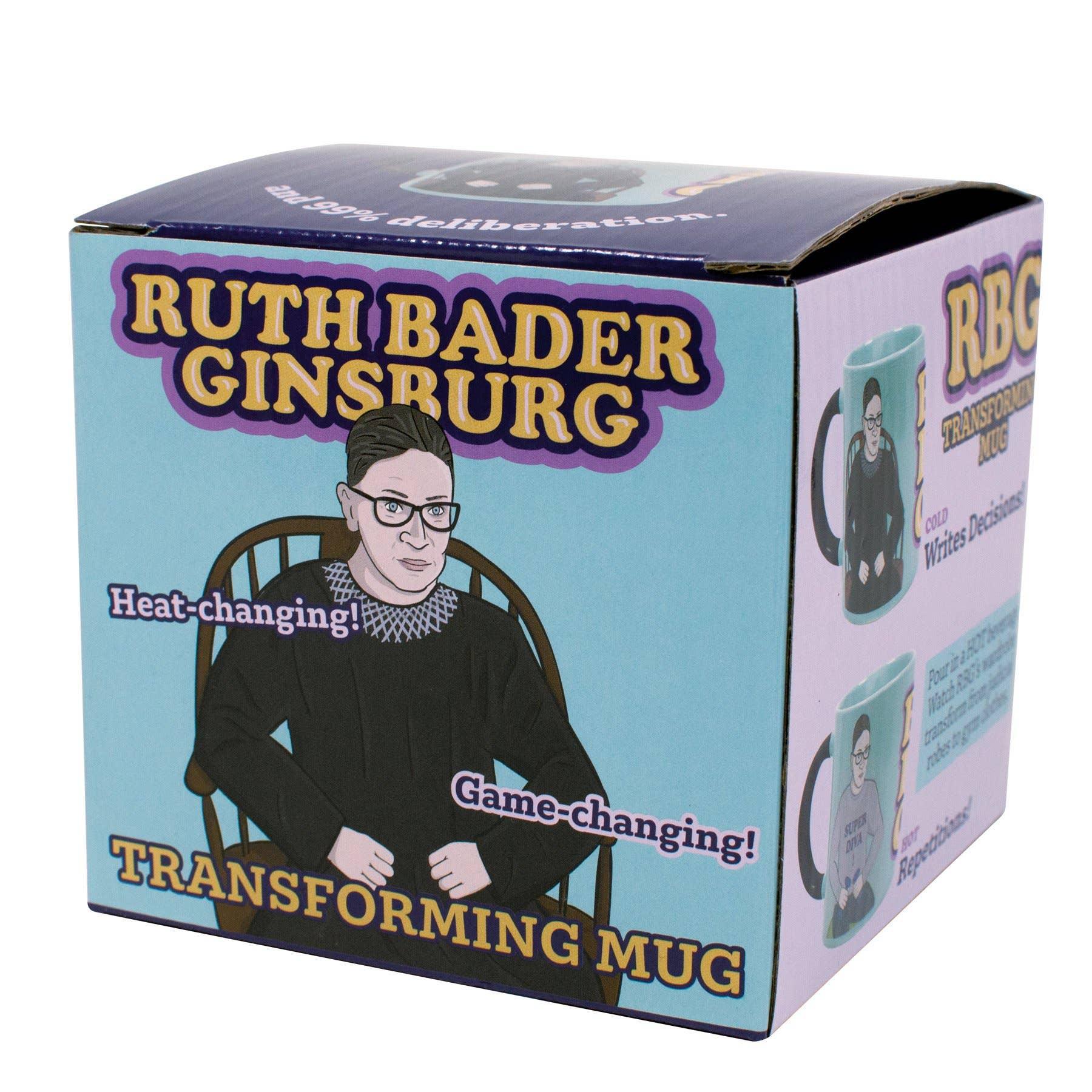 Ruth Bader Ginsburg Transforming Mug