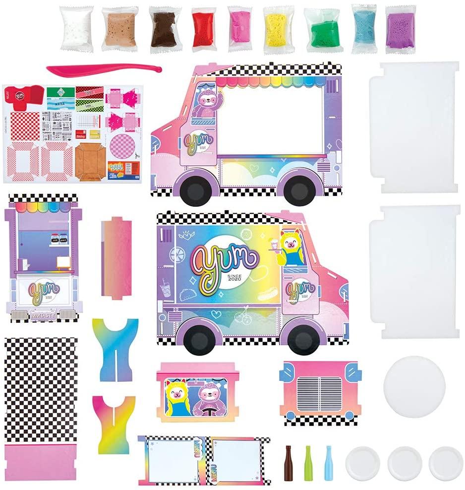100% Extra Small Mini Clay Kits: Food Truck Kit