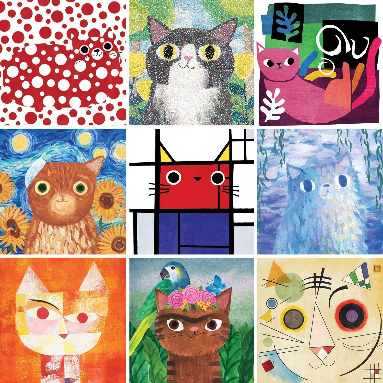 Artsy Cats Puzzle