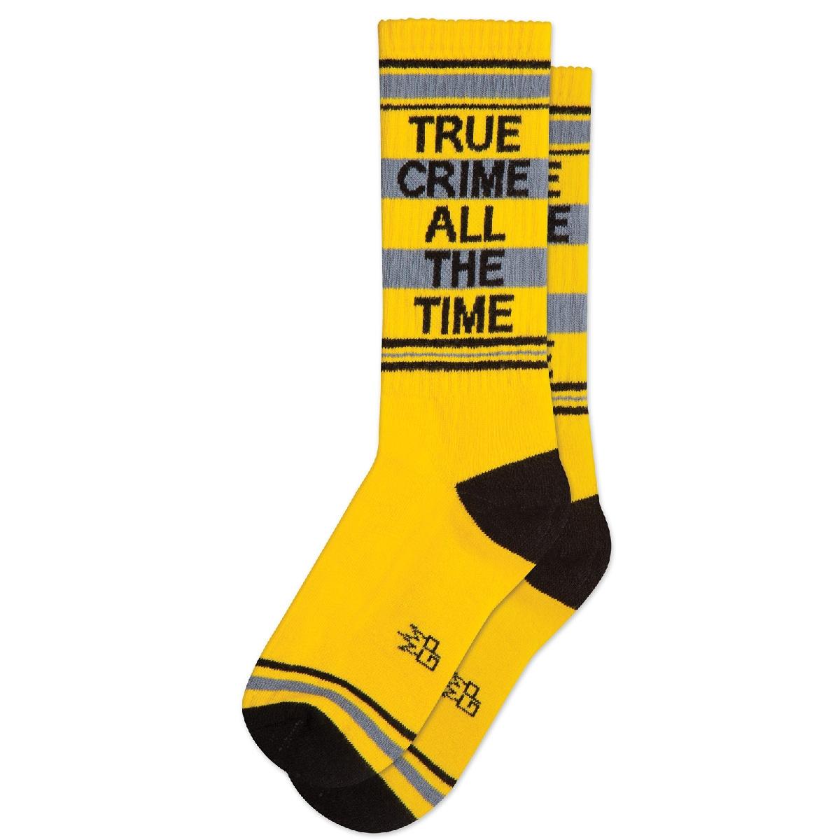 True Crime All The Time Socks