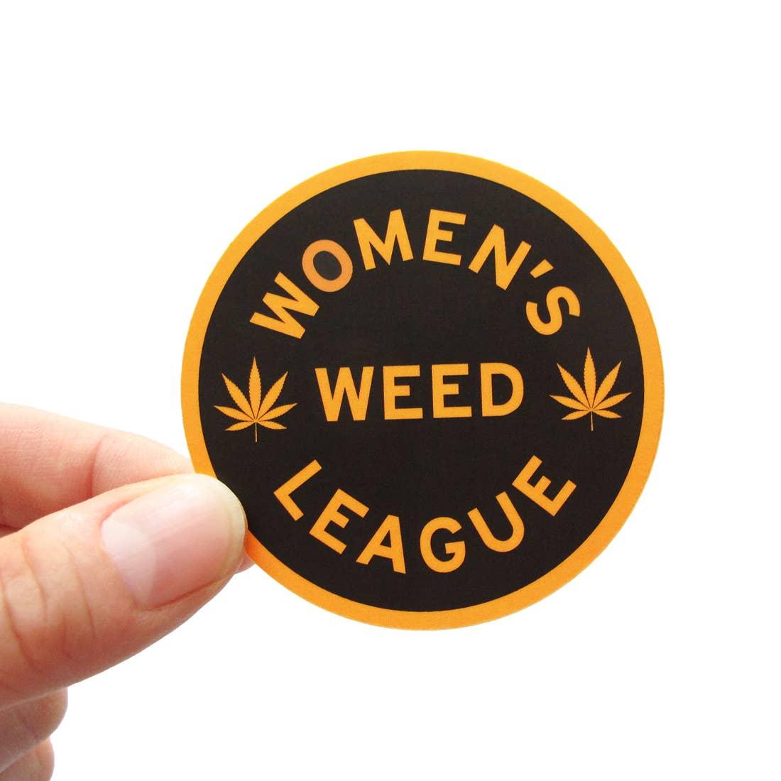 Women's Weed League Sticker