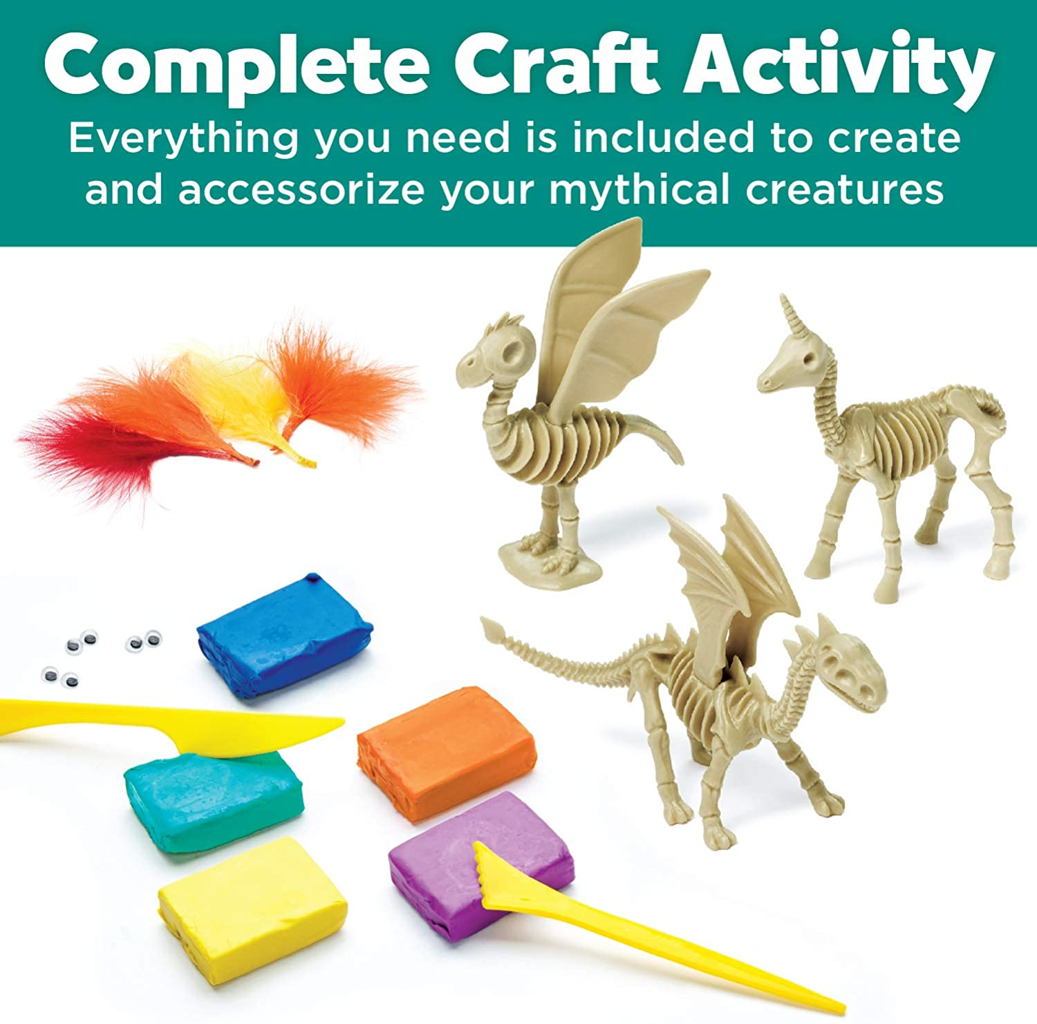 Mythical Creatures Clay Kit