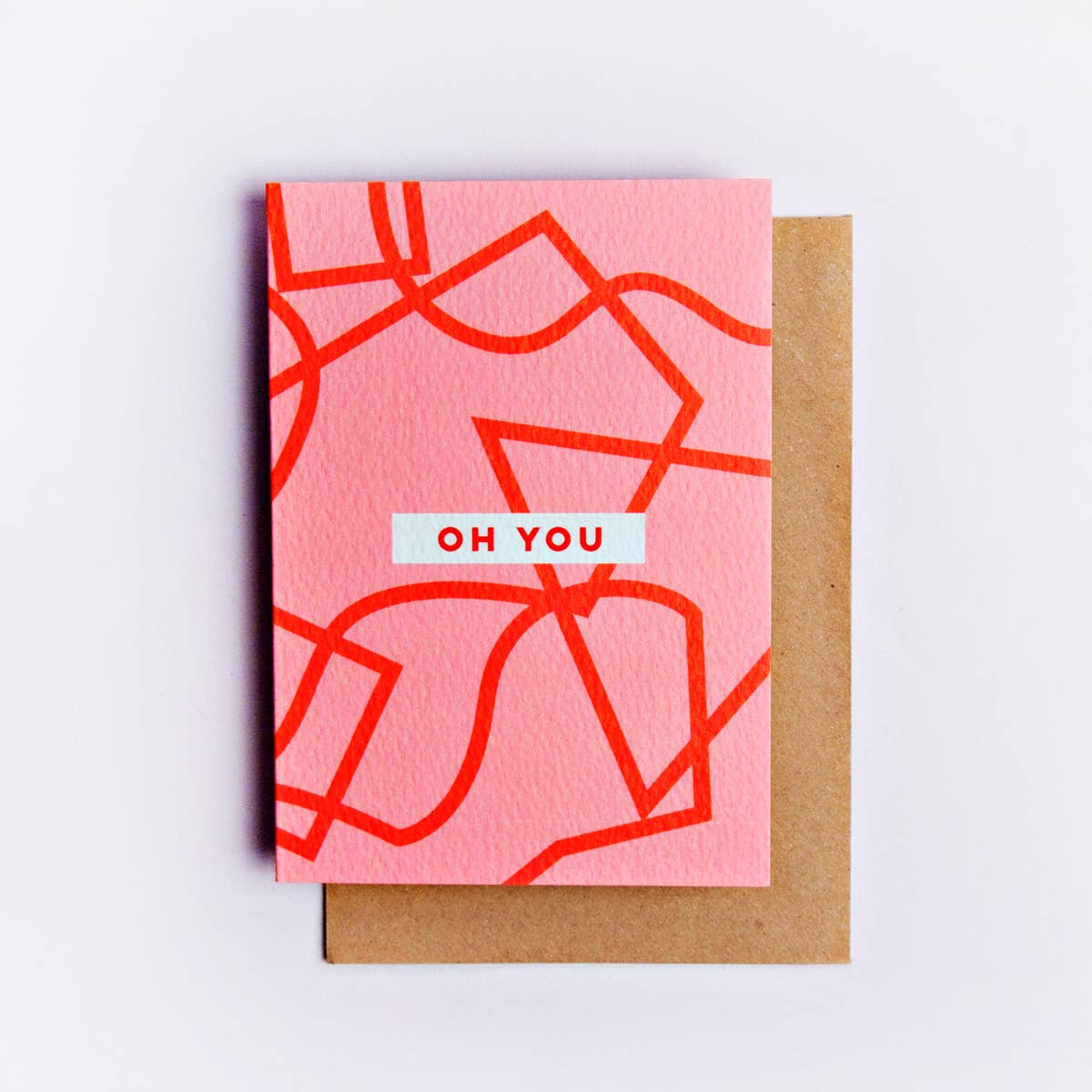 Oh You Shapes Card
