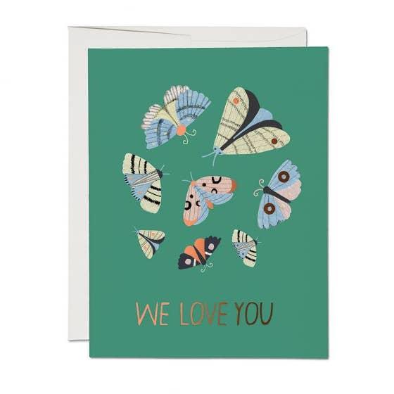 Moth Magic Card