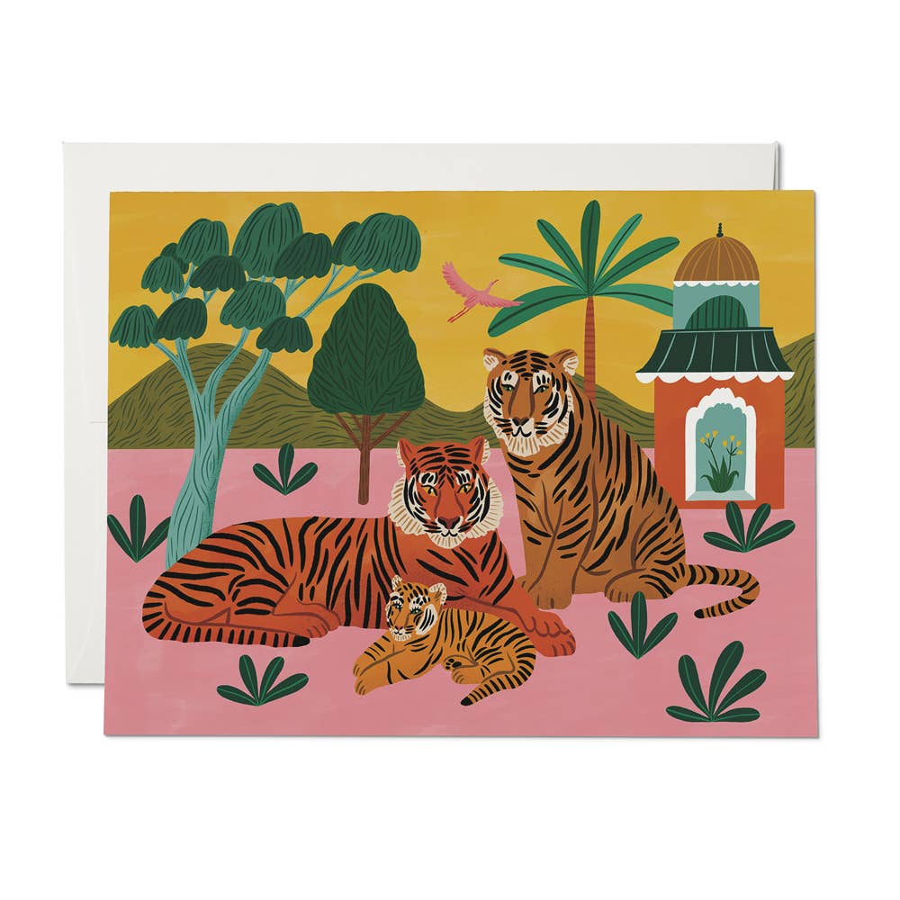 Tiger Family Card