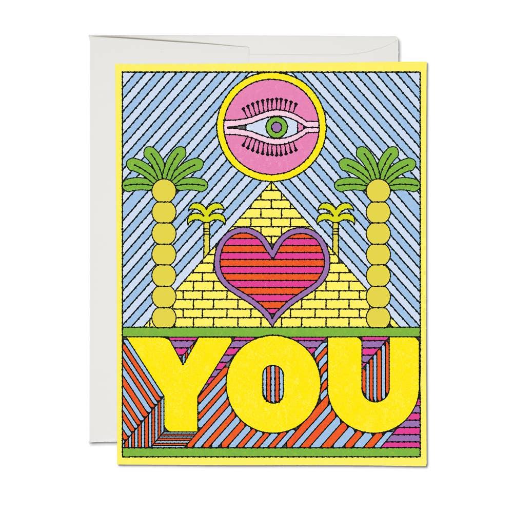 Eye Heart You Card