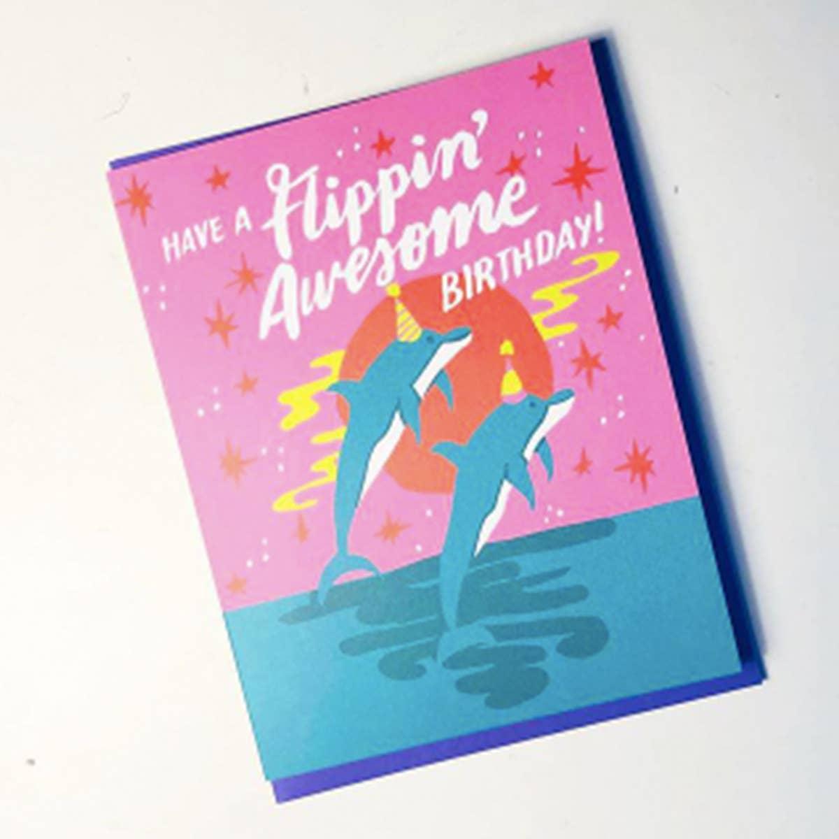 Flippin' Awesome Birthday Card