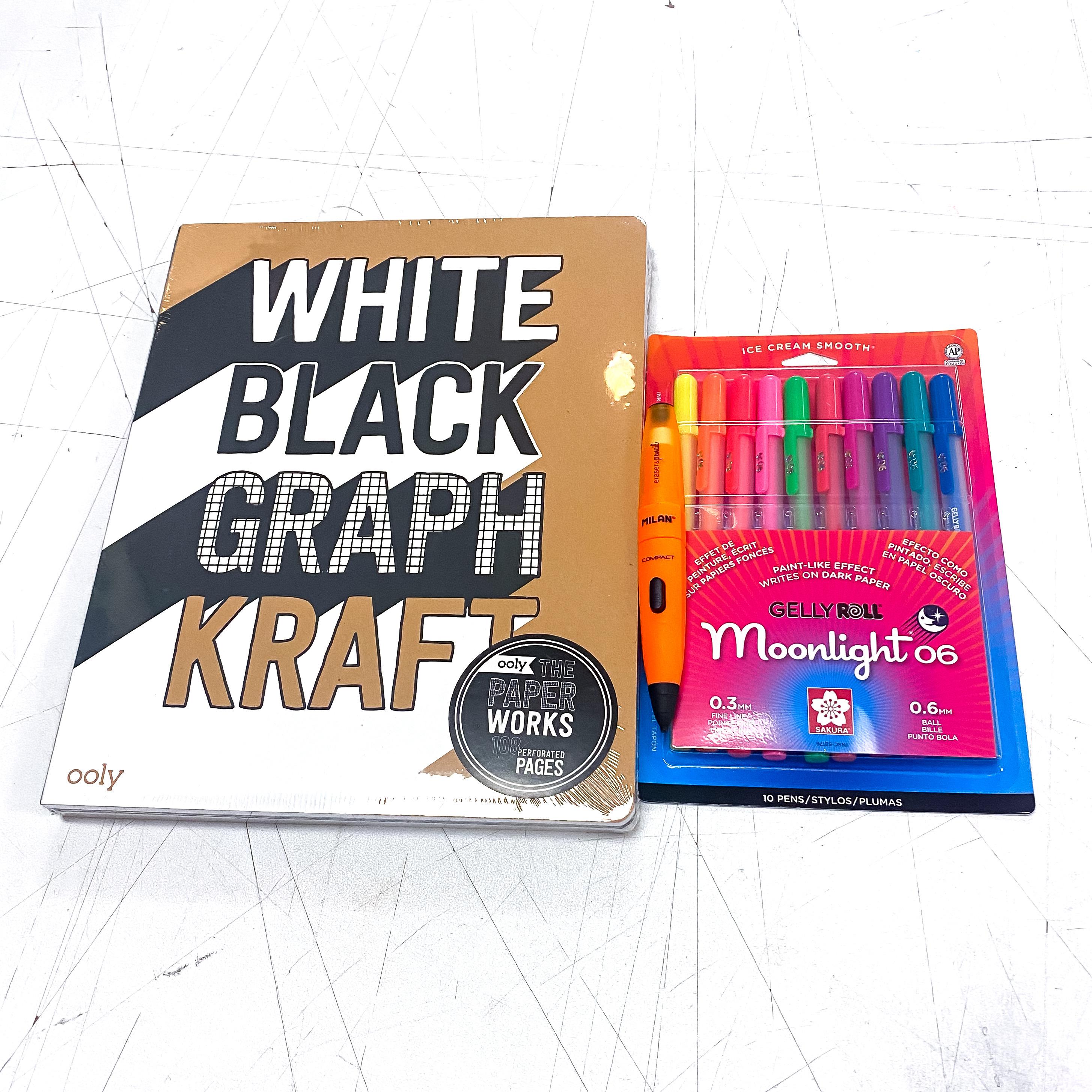 Moonlight White Black Graph Kraft Kit!