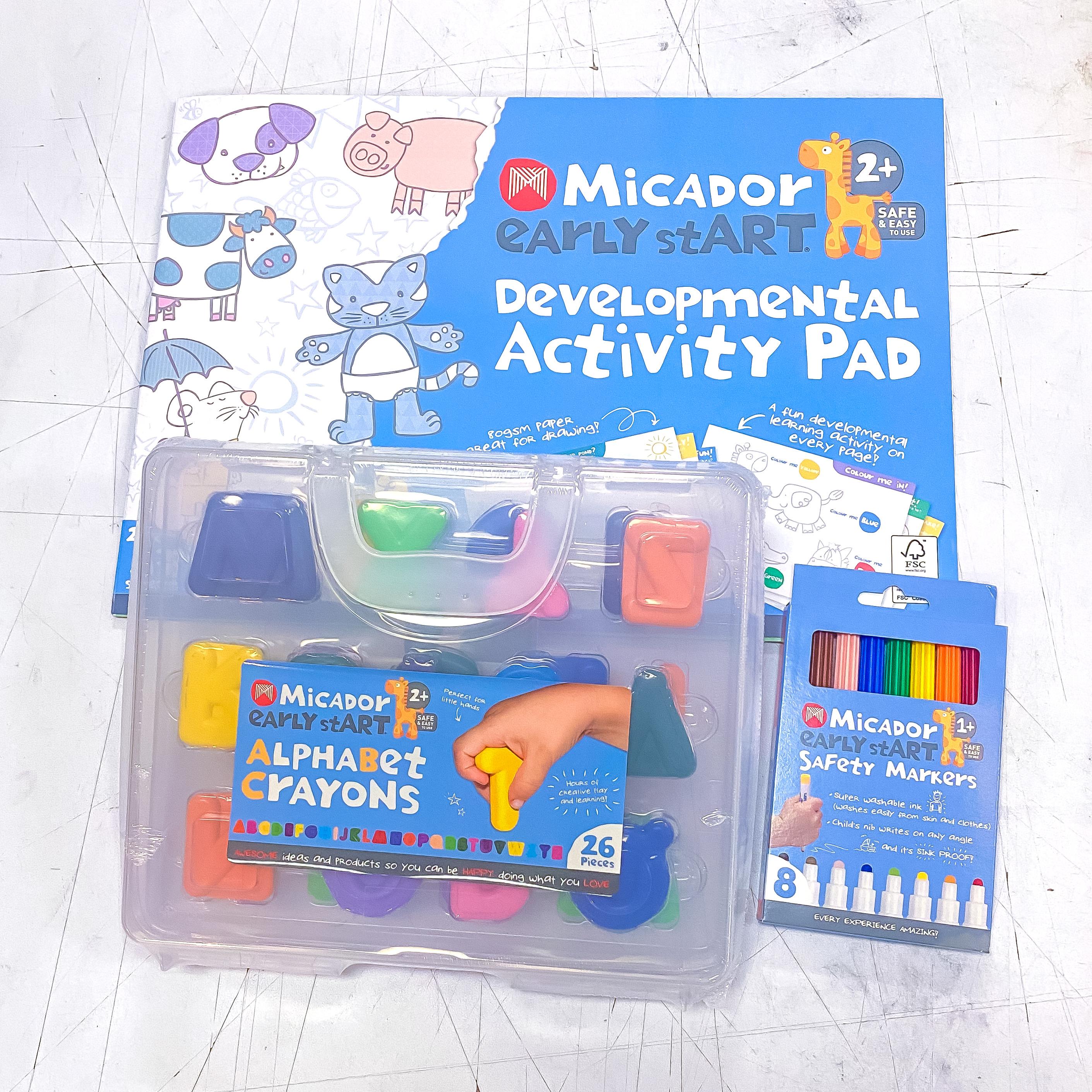 2 & Up Activity Pad Kit!