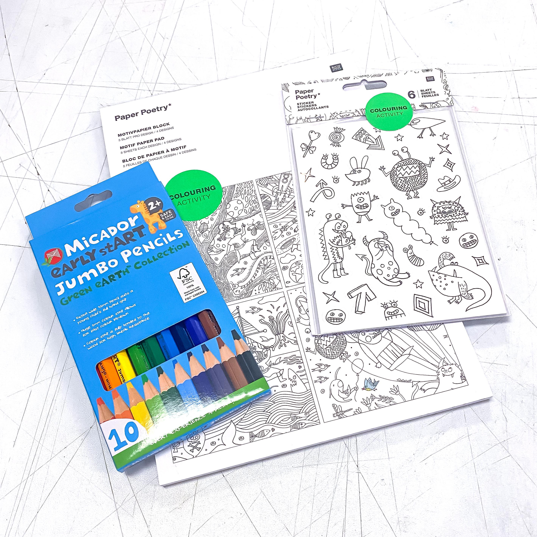 Colouring Activity Kit!