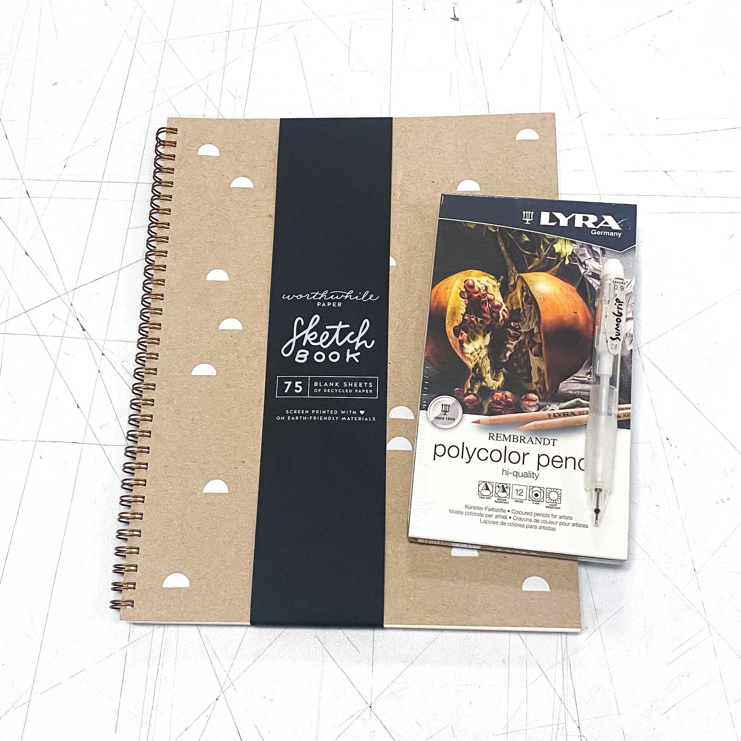 The Worthwhile Colored Pencil Sketch Kit