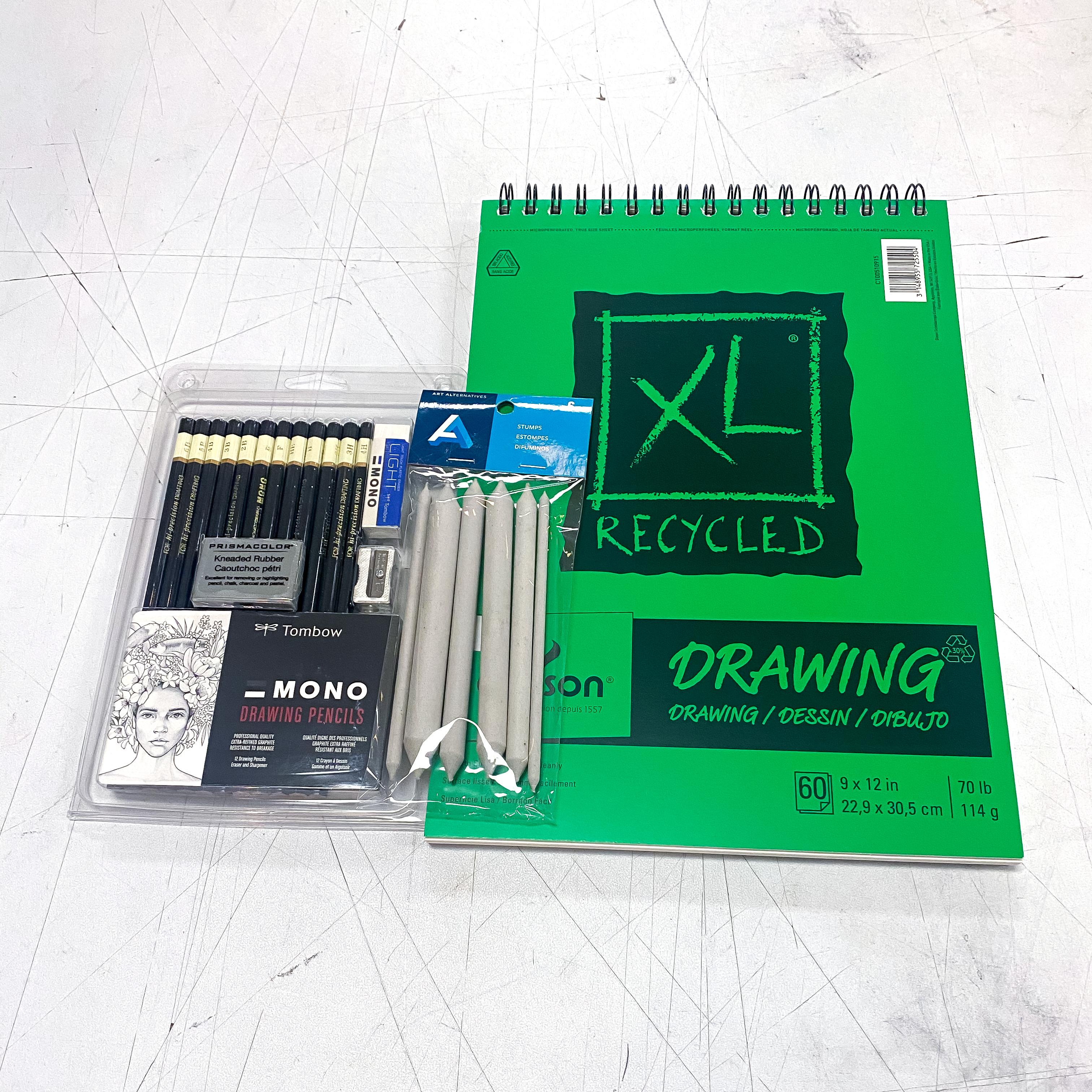 XL Drawing Pencil Sketch Kit