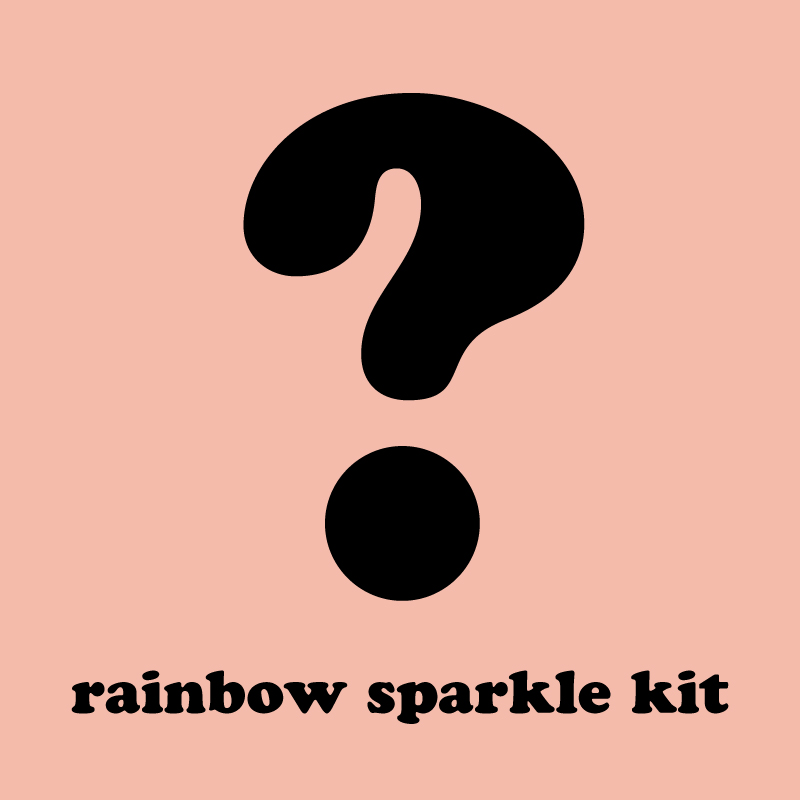 Mystery Rainbow Sparkle Kit