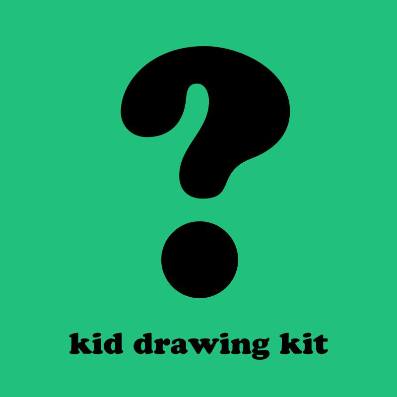 Mystery Kid Drawing Kit