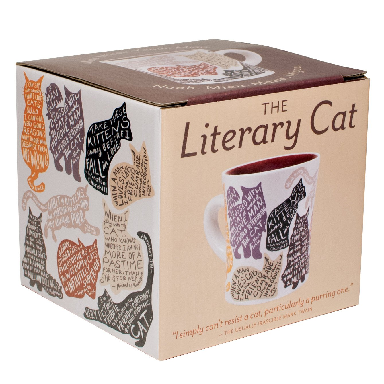 The Literary Cat Mug